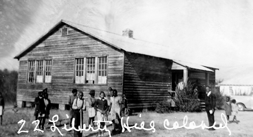 Liberty Hill Colored School