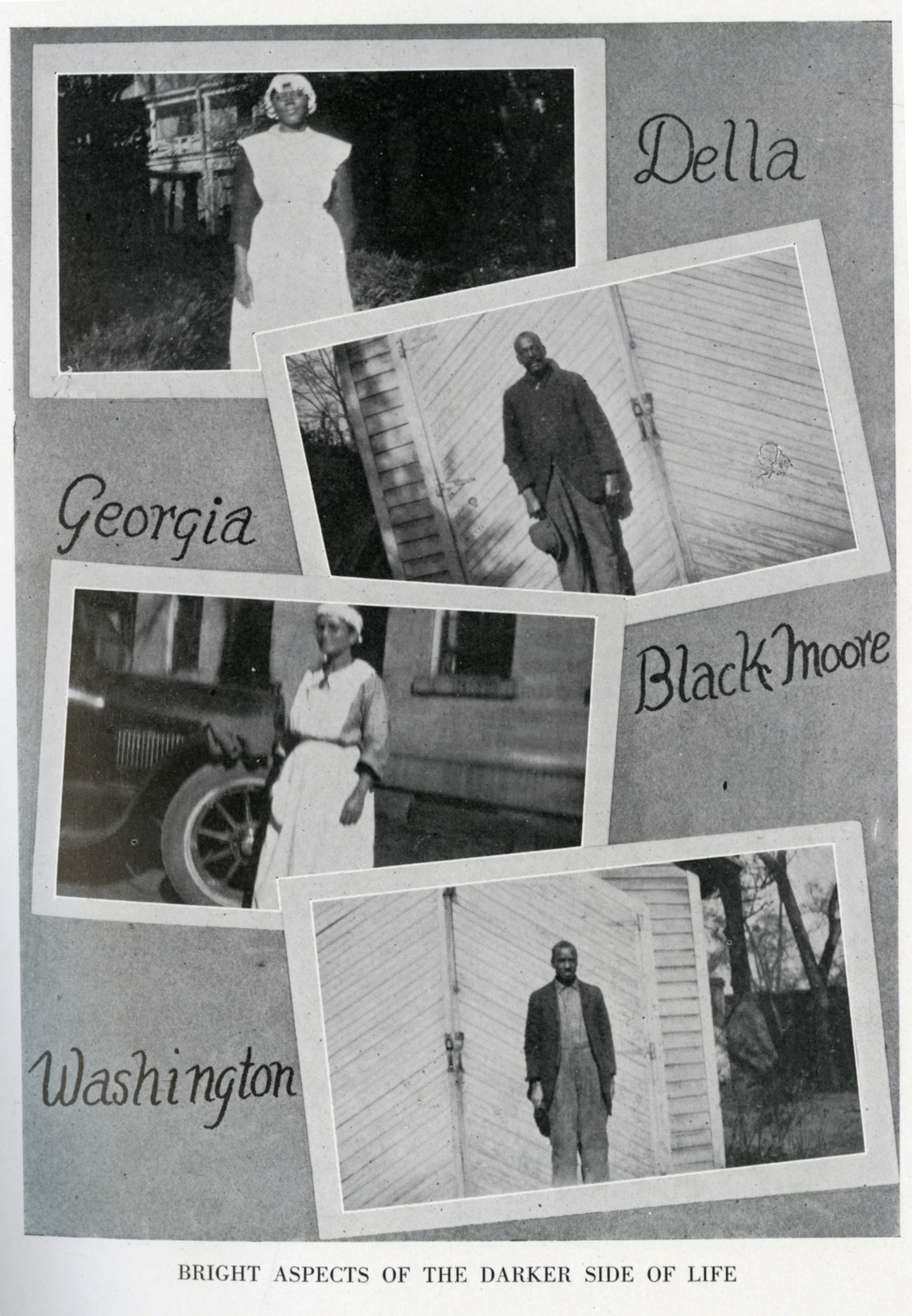 Black laborers in the 1920s